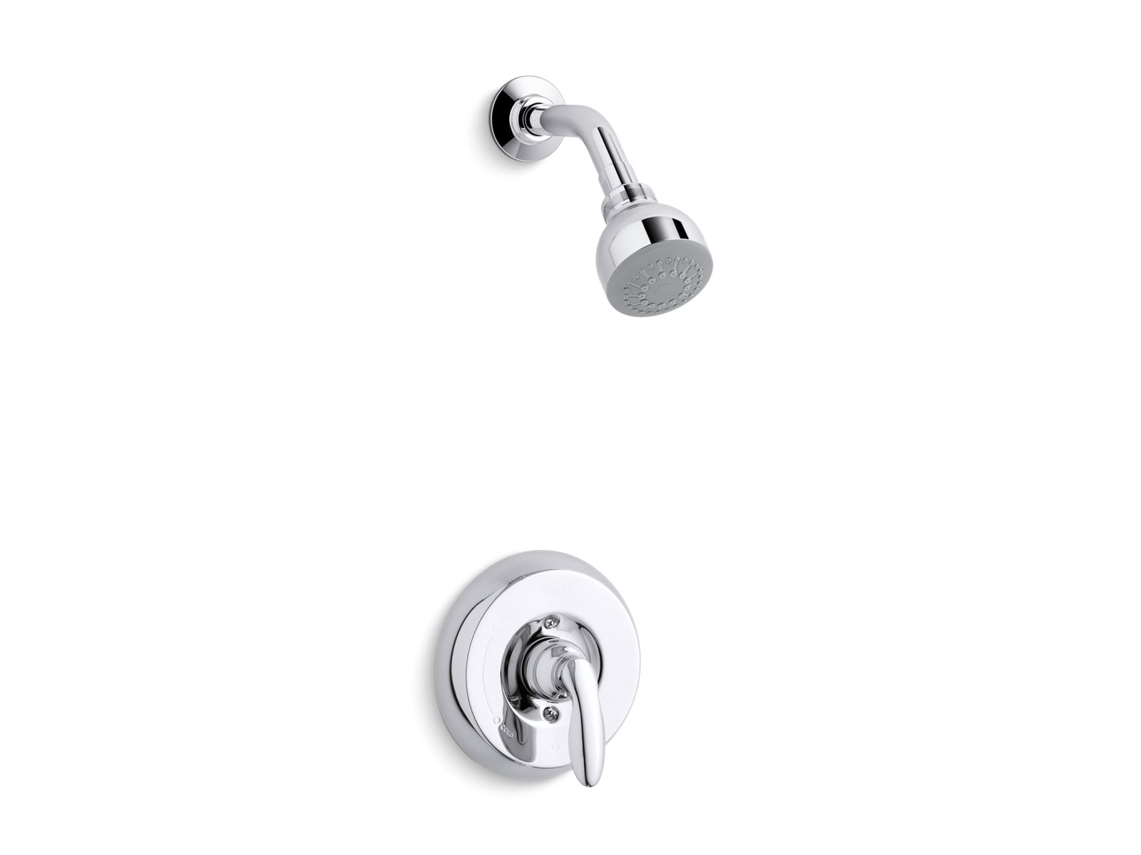 kts156114 coralais ritetemp shower valve trim with lever handle and 25 gpm showerhead kohler
