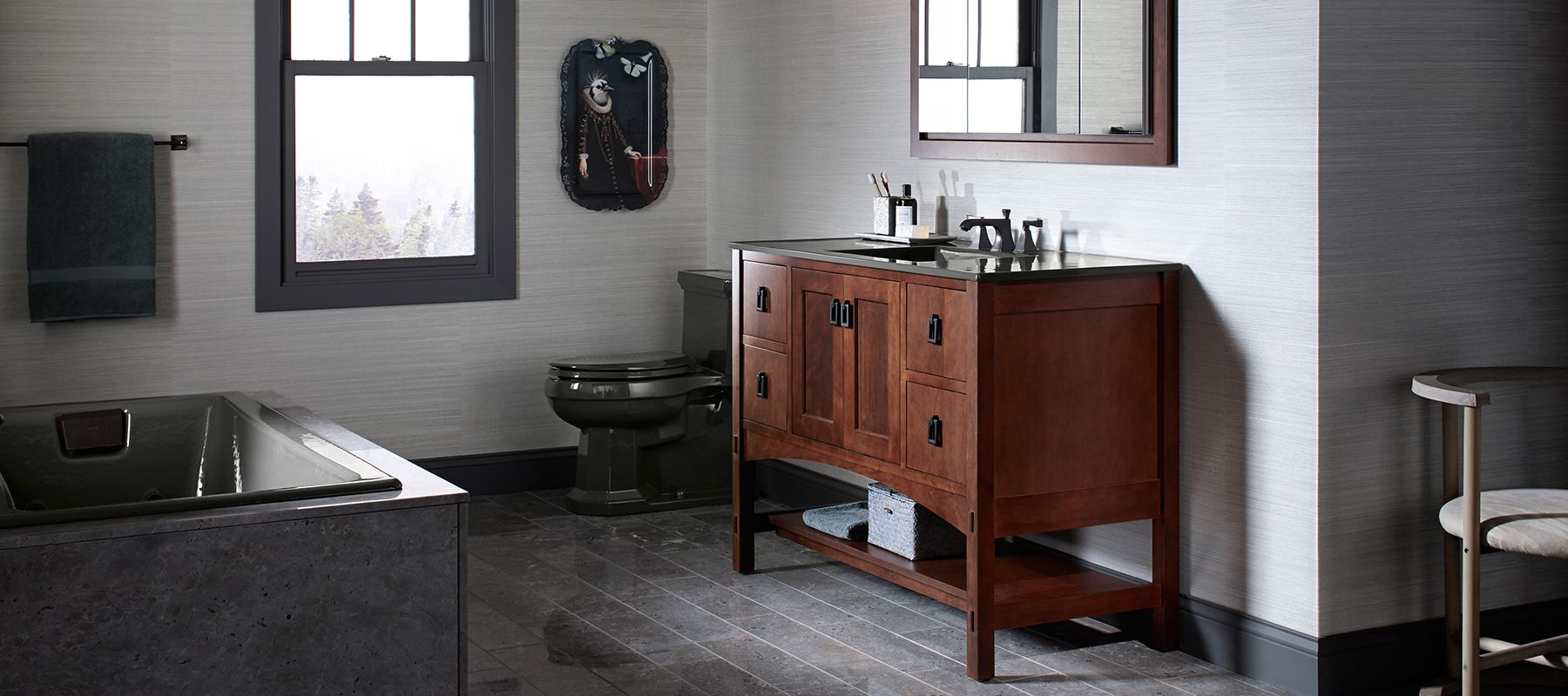 . KOHLER Enameled Cast Iron Bathroom Sinks   Bathroom   KOHLER