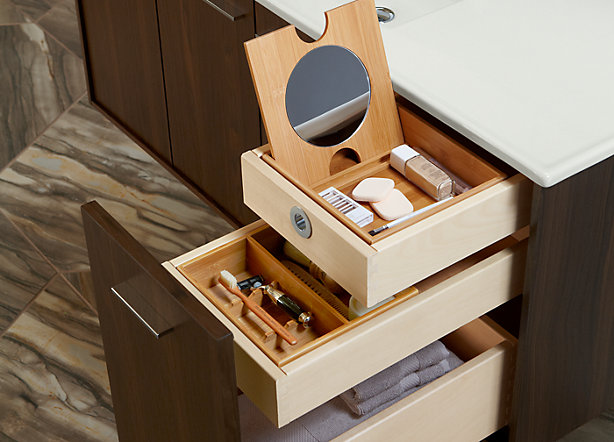 Custom drawer configuration