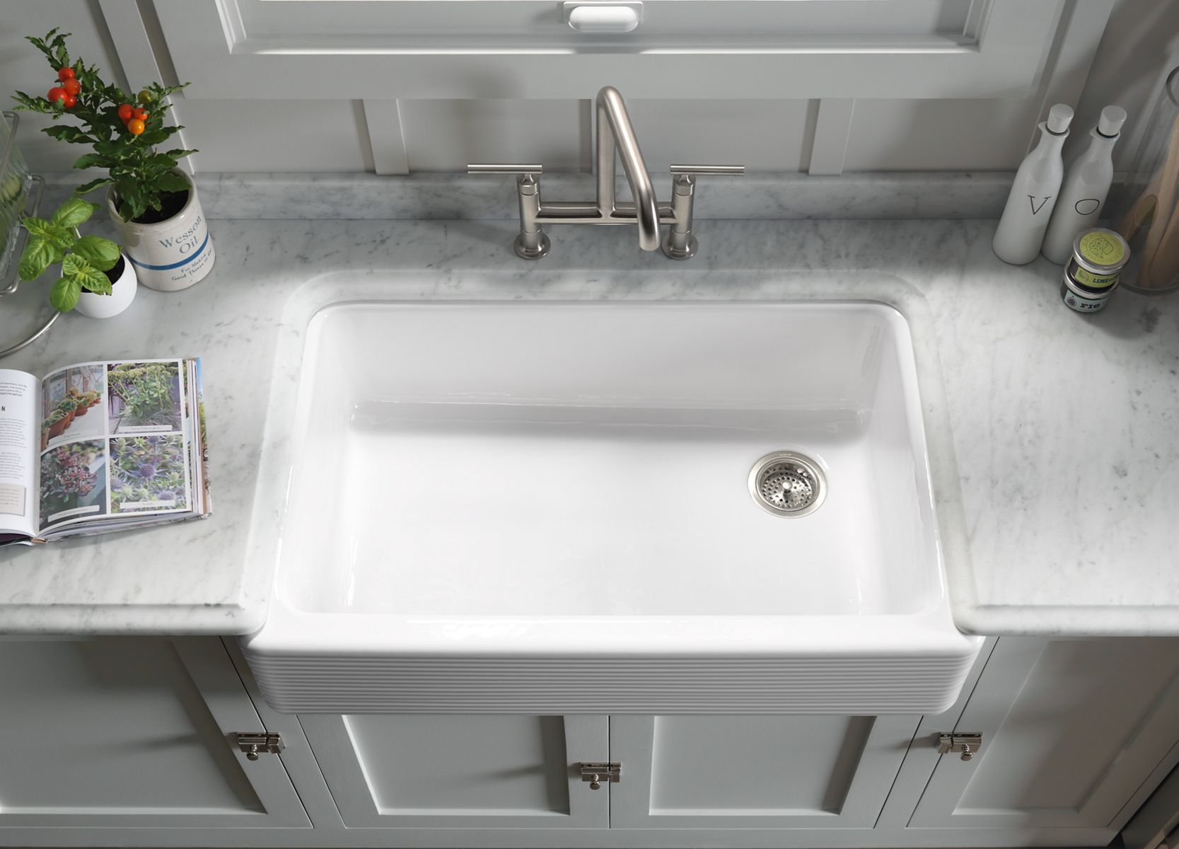 Apron Front Sinks An Easy Kitchen Update