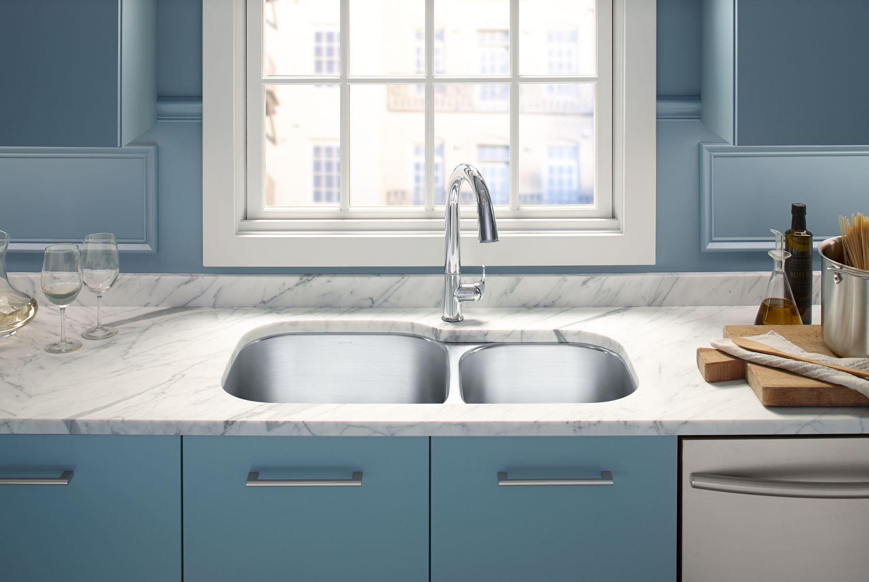 kohler k584610 brookfield cast iron sink