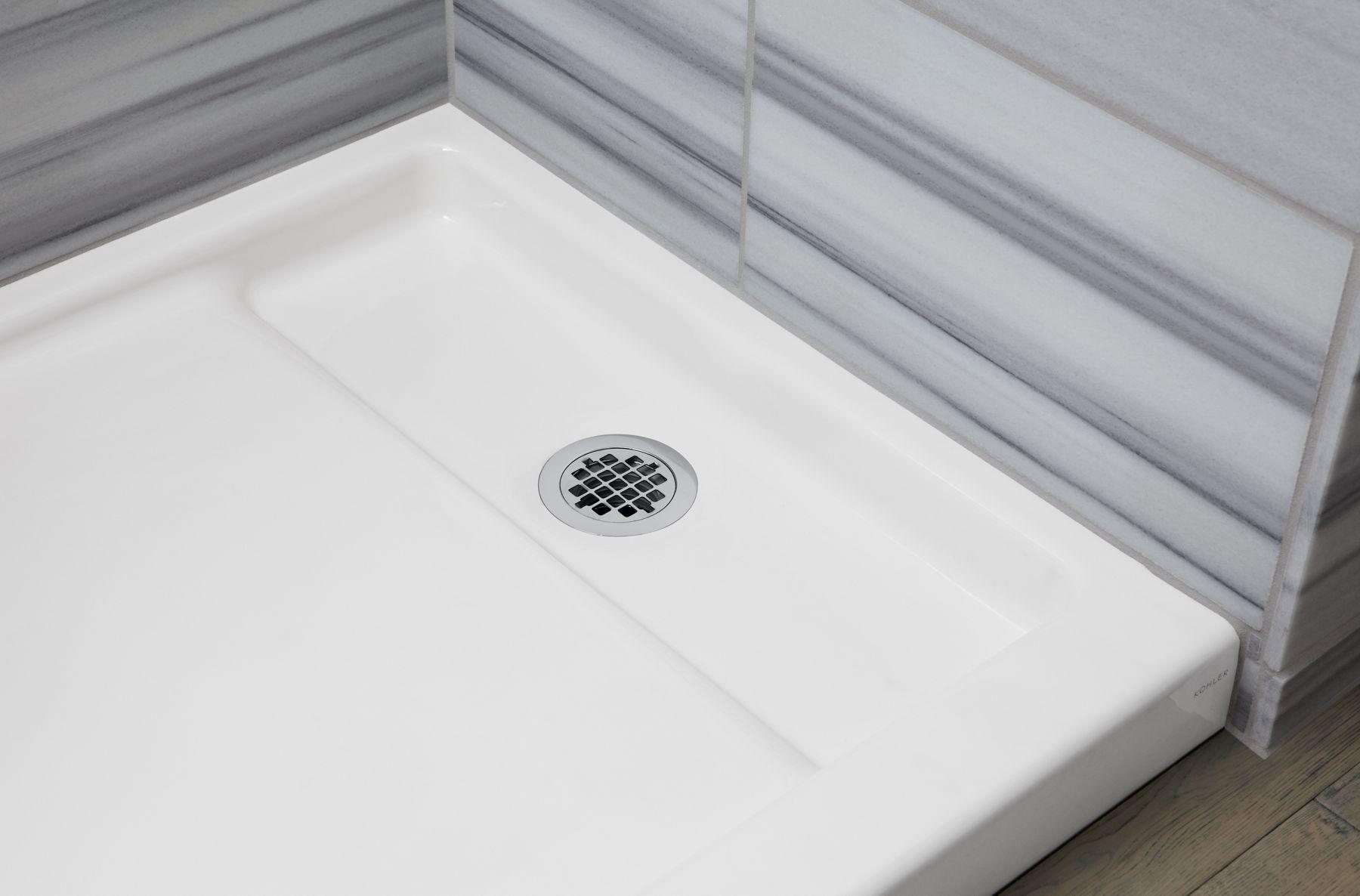 Cast Iron Shower Bases Bathroom KOHLER