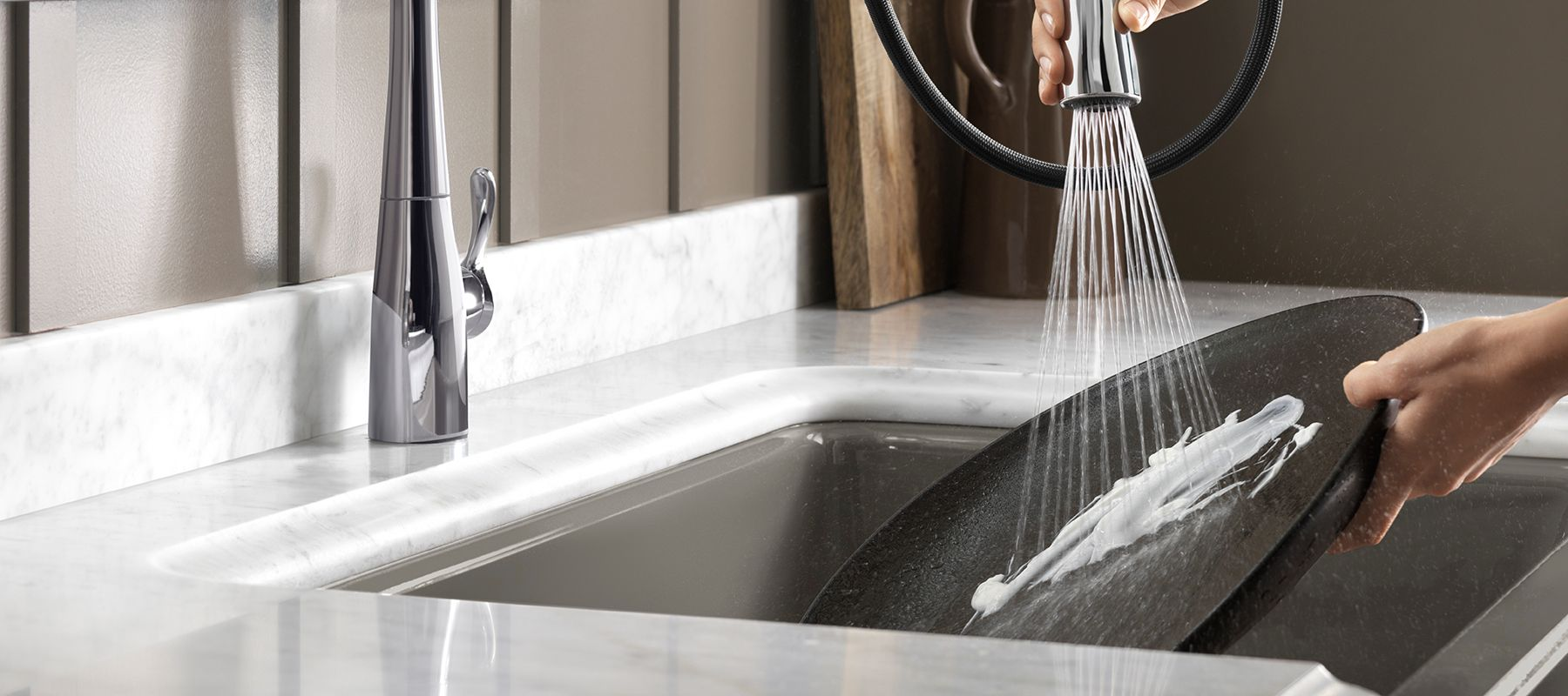 faucet innovations - Kohler Kitchen Sinks