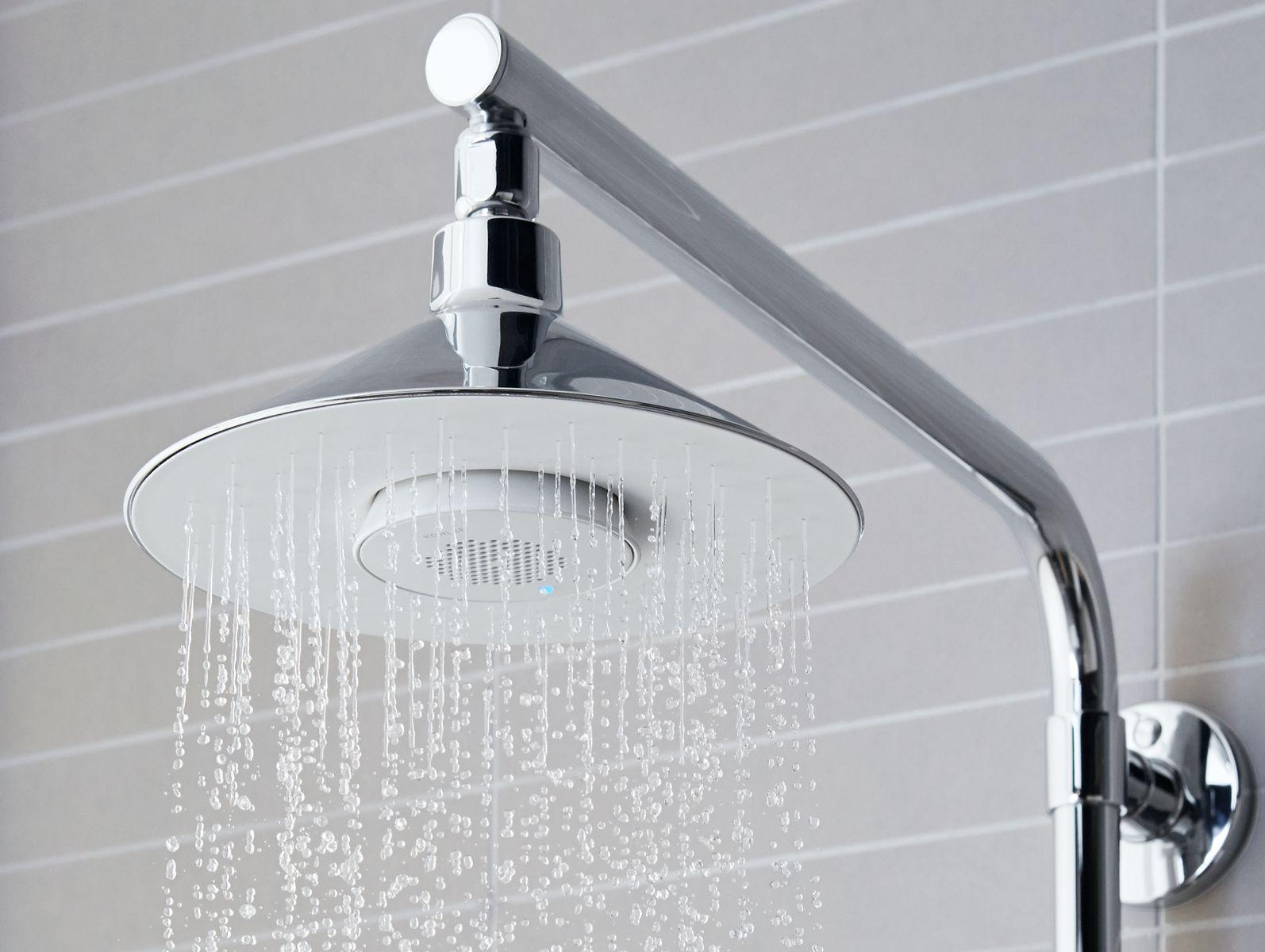 Moxie 174 Showerhead Wireless Speaker Bathroom New