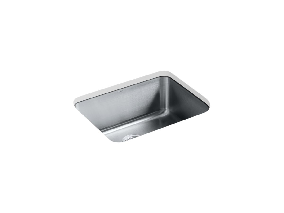 "Kohler Stainless Steel Kitchen Sinks k-3325-hcf | undertone® preserve™ 23"" x 17-1/2"" 9-13/16"" medium"