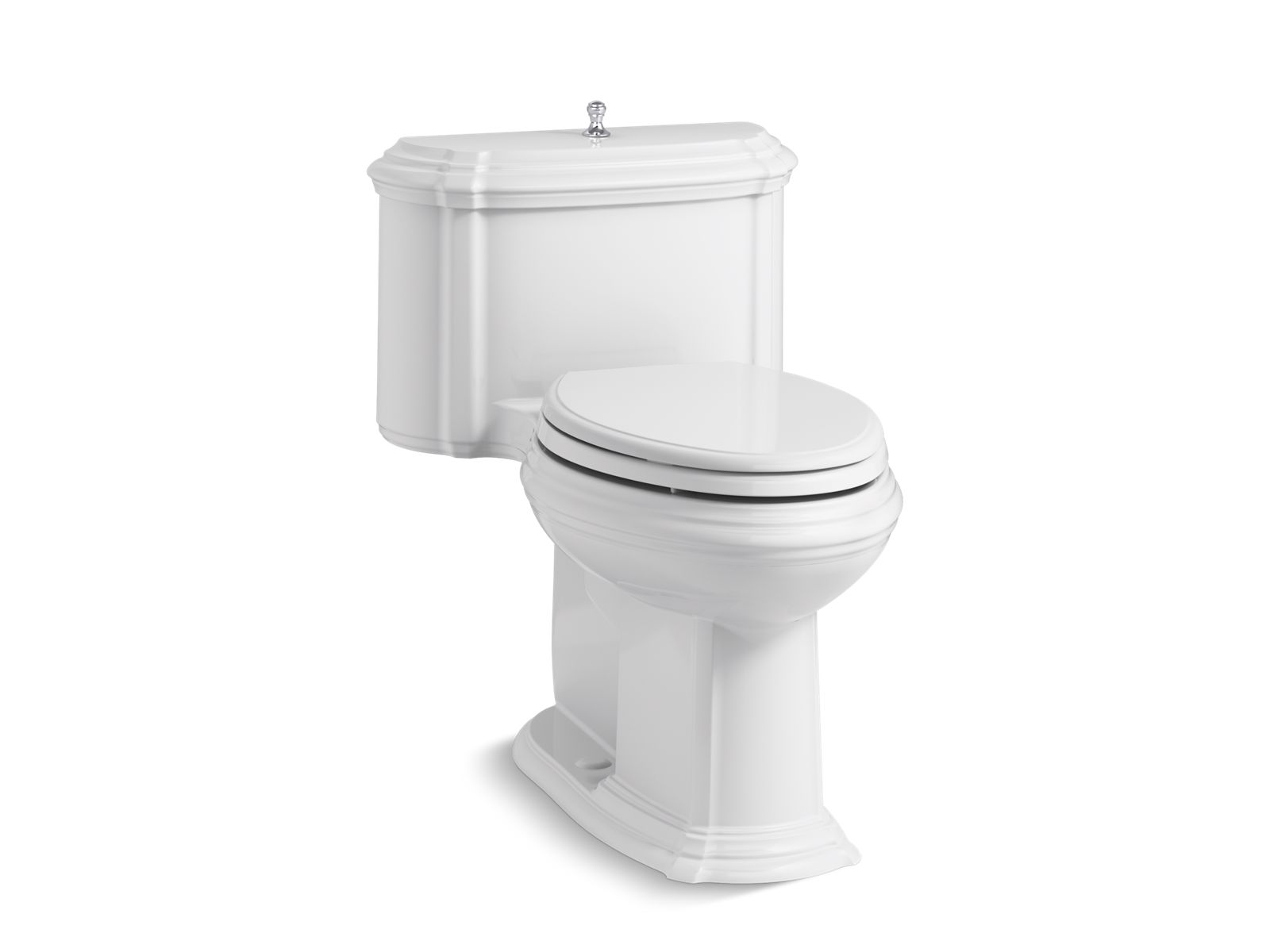 k3826 portrait 1piece compact elongated 128gpf toilet wseat kohler