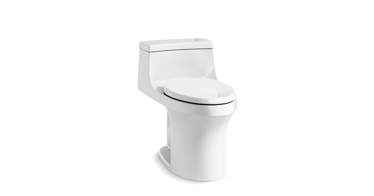Fine K 4000 San Souci One Piece Touchless Toilet 1 28 Gpf Caraccident5 Cool Chair Designs And Ideas Caraccident5Info