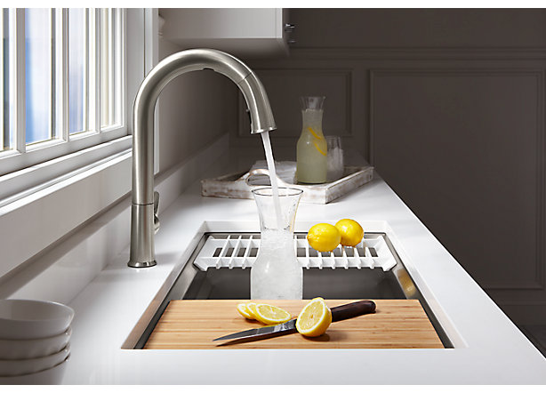 Sensate Touchless Kitchen Sink Faucet With Kohler Konnect Kohler