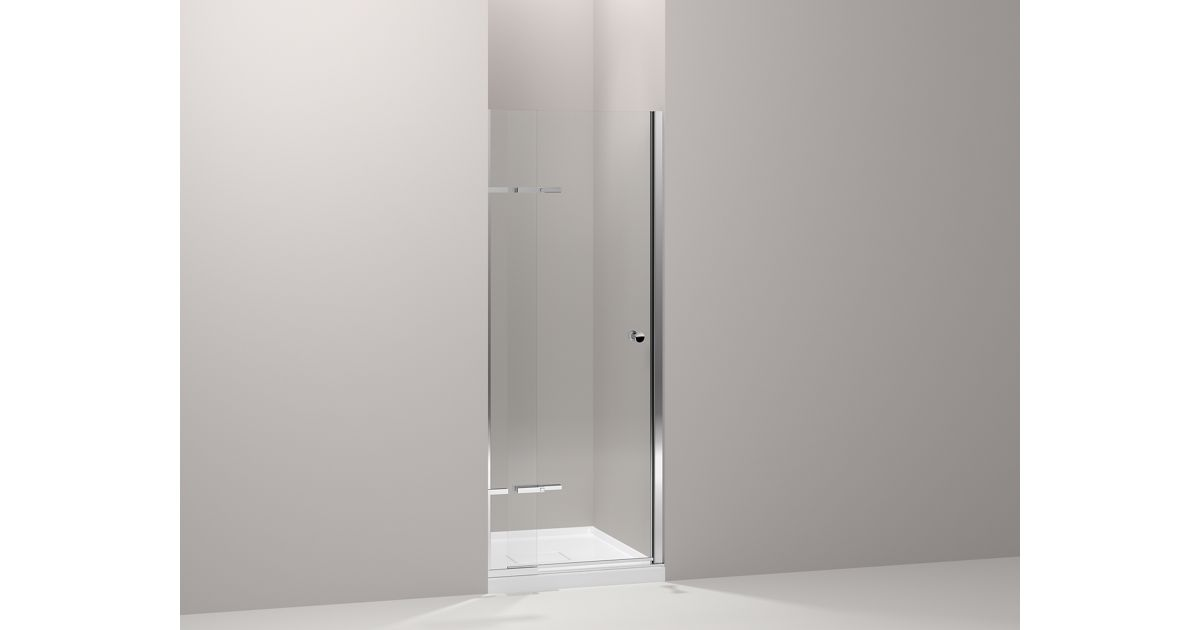 Underline Frameless Pivoting Shower Door | K-709032-L | KOHLER