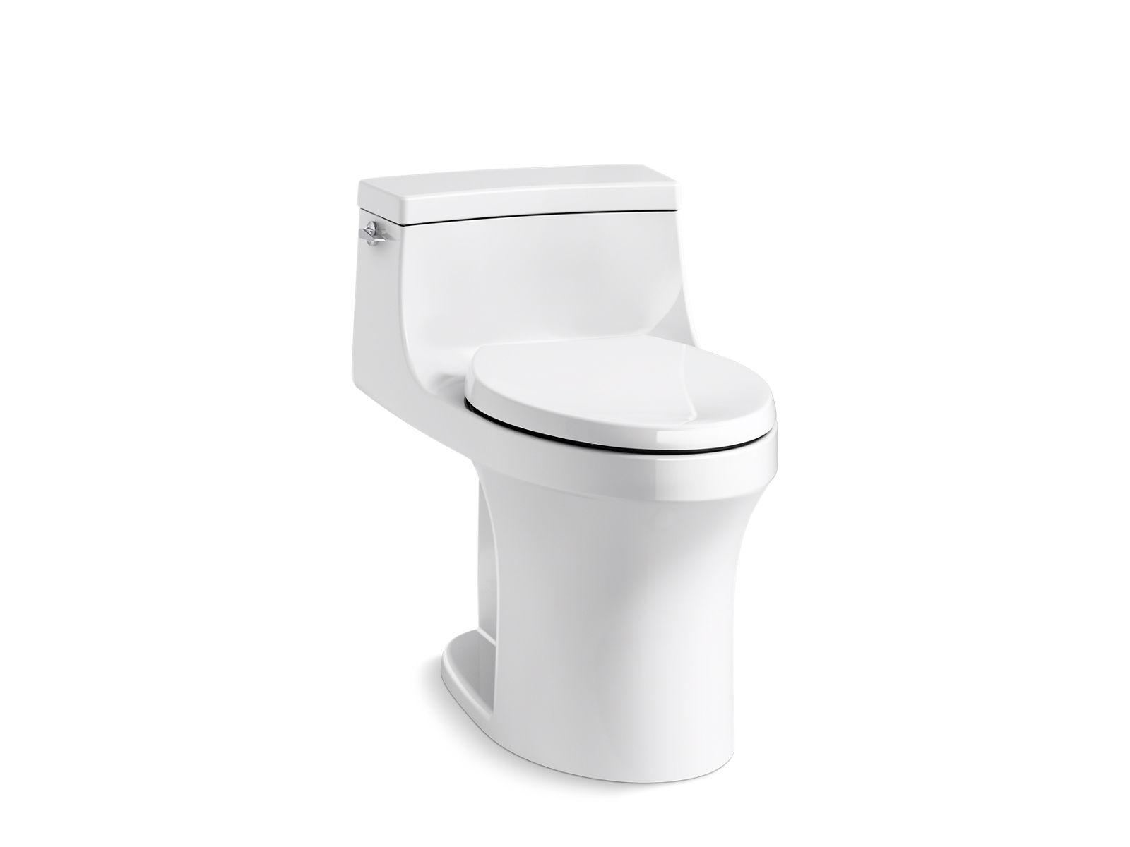 elongated toilet bowl dimensions. One Piece Toilets Guide  Bathroom KOHLER