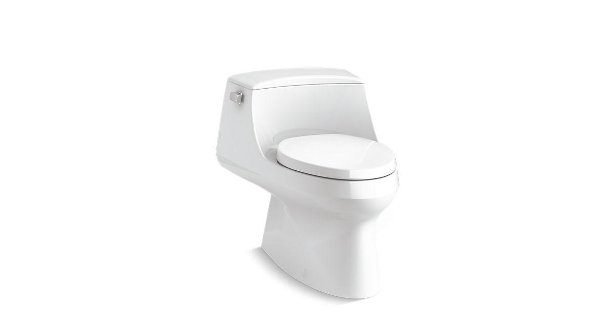 Astounding K 3722 San Raphael One Piece Elongated Toilet 1 28 Gpf Kohler Dailytribune Chair Design For Home Dailytribuneorg