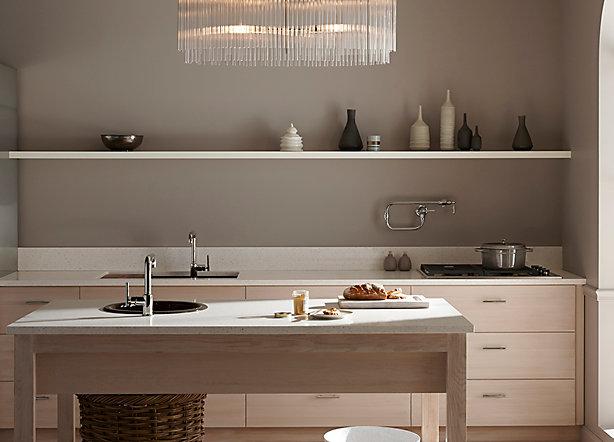 1. Dapur dengan tema