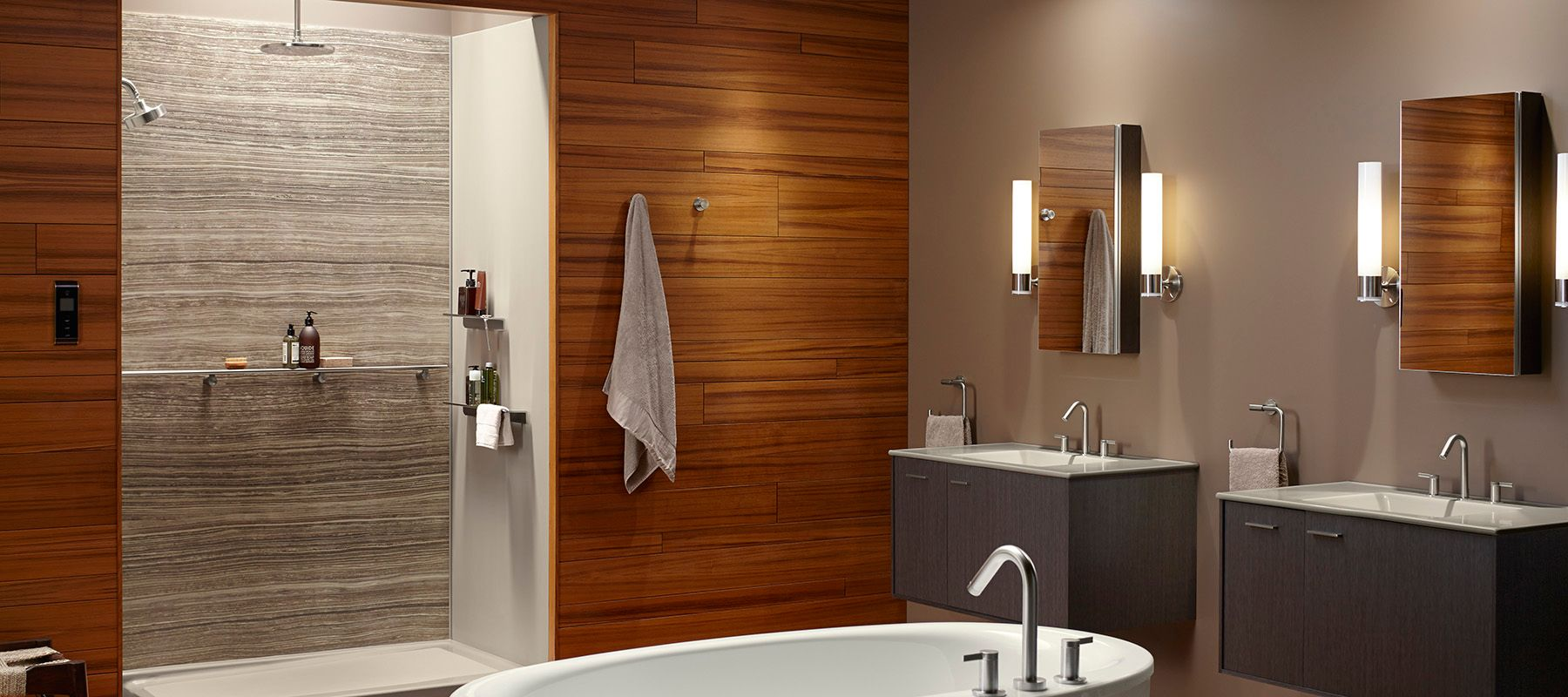 Shower Walls | Showering | Bathroom | KOHLER