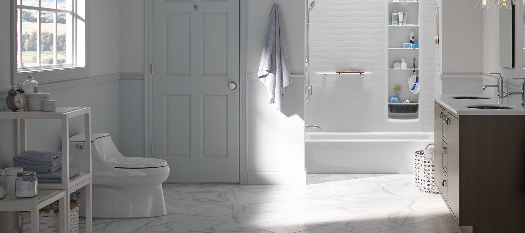 Alcove Bathtubs, Whirlpool, Bathing Products | Bathroom | KOHLER