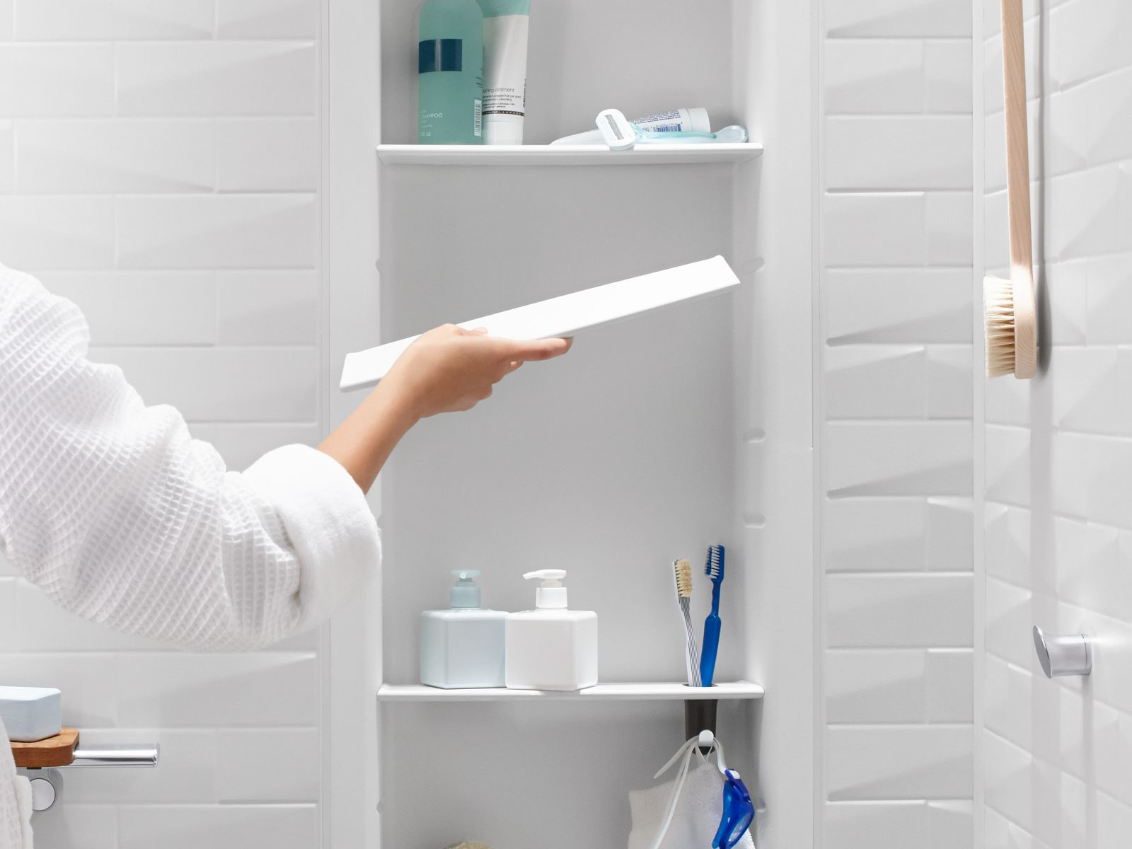 Bathroom and shower accessories - Shower Lockers