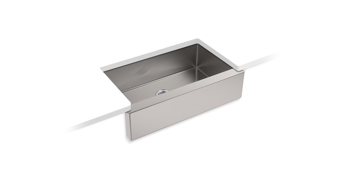 Strive Self T 35 1 2 X 21 4 9 5 16 Under Mount Large Single Bowl Kitchen Sink With Tall A