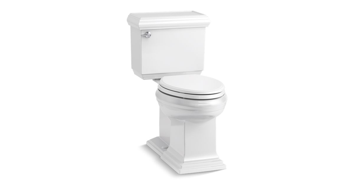 Memoirs Classic Comfort Height Elongated Toilet   K 6999   KOHLER. Two In One Toilet Seat. Home Design Ideas