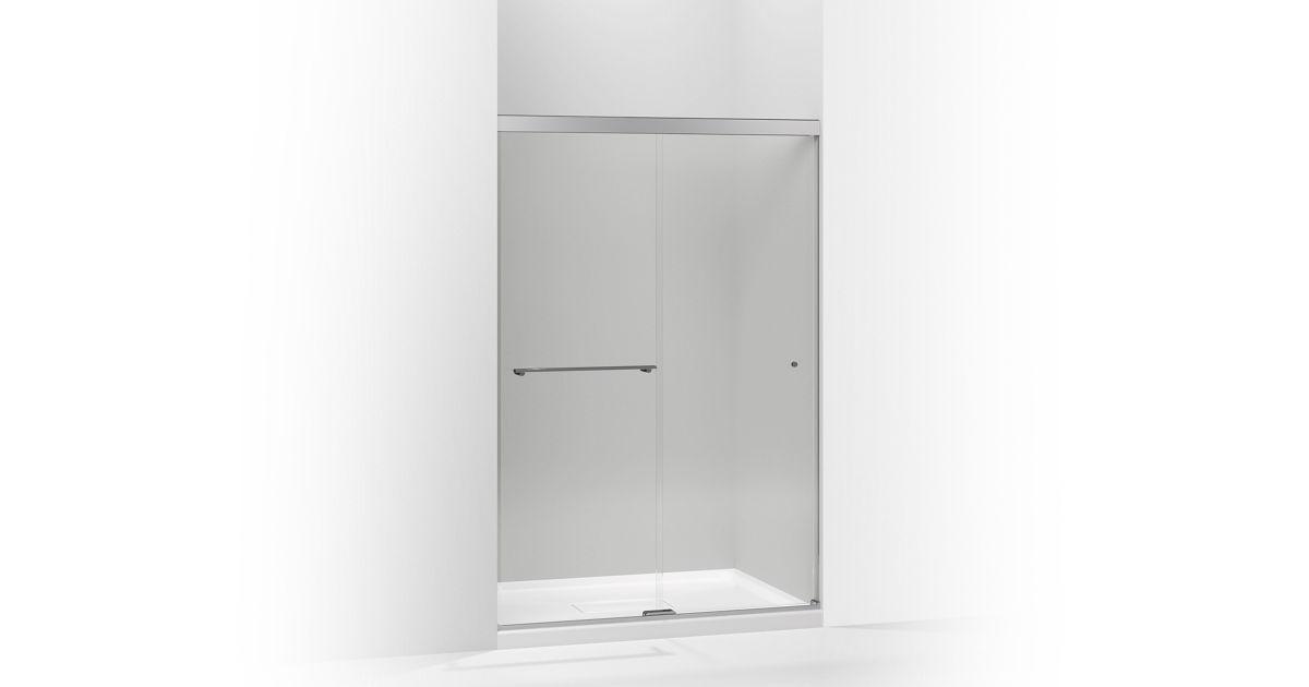 K 707100 L Revel Frameless Sliding Shower Door Kohler