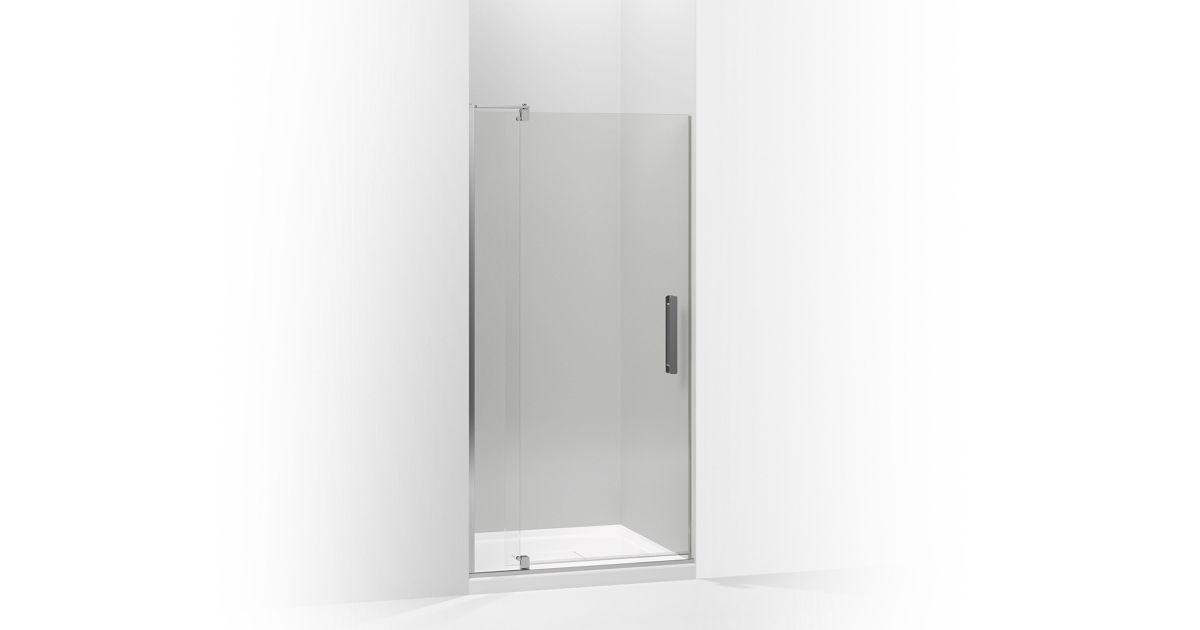 K 707536 L Revel Frameless Pivot Shower Door Kohler