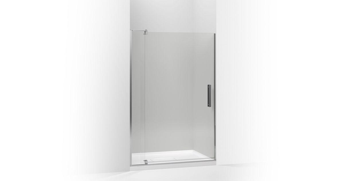 K 707551 L Revel Frameless Pivot Shower Door Kohler