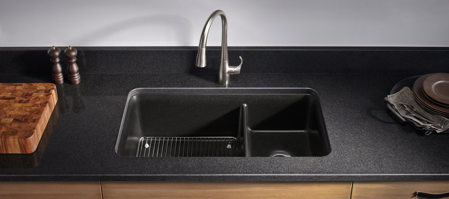 cheap black kitchen sink neoroc kitchen sinks 5239