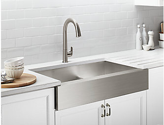 Kitchen Sinks - Farmhouse, Stainless Steel & More | KOHLER