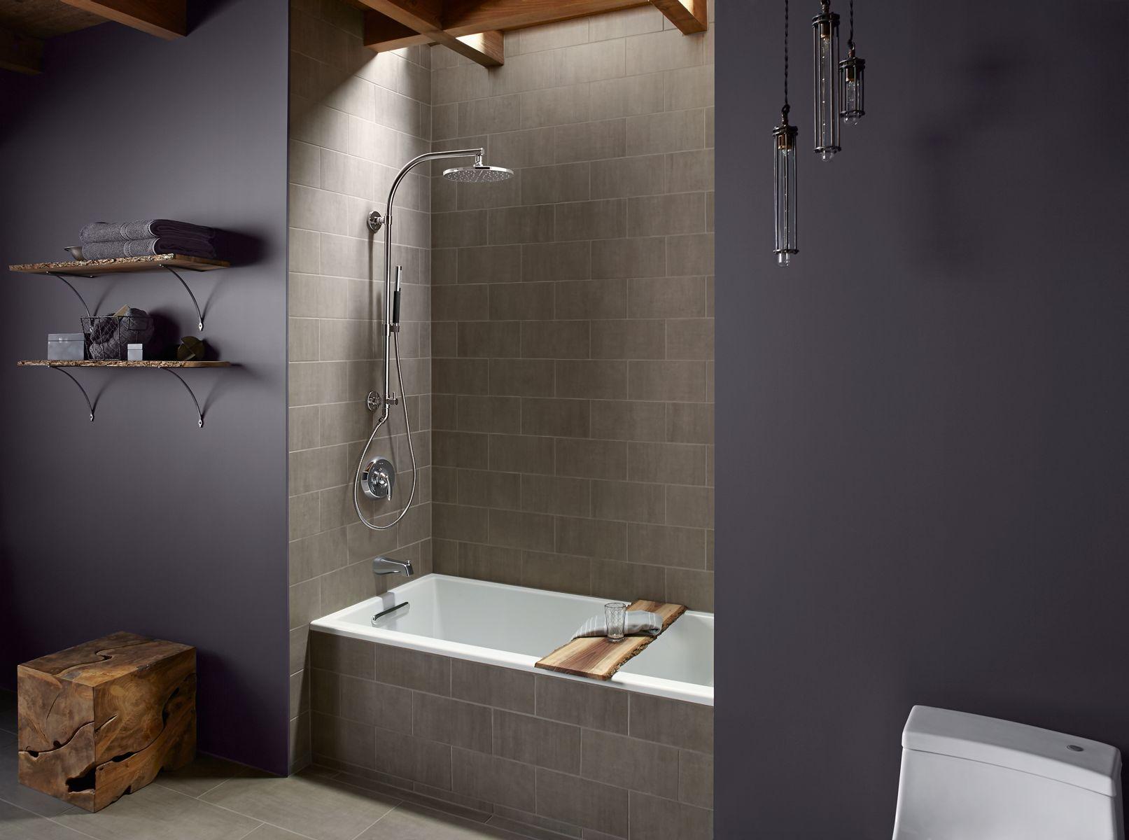 Hydrorail Shower Columns Bathroom Kohler