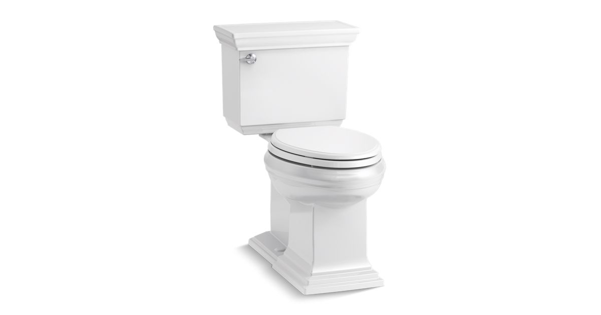 kohler memoirs toilet i tried this memoirs last summer five full tanks  before i could leave . kohler memoirs toilet ...