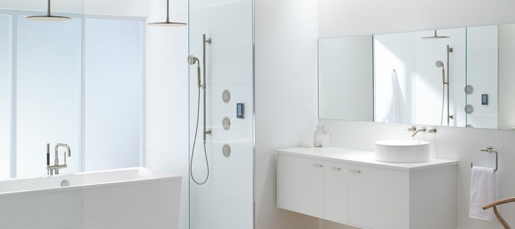 sleek modern style - Bathroom Accessories Kohler