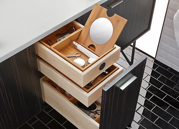 In-Drawer Storage