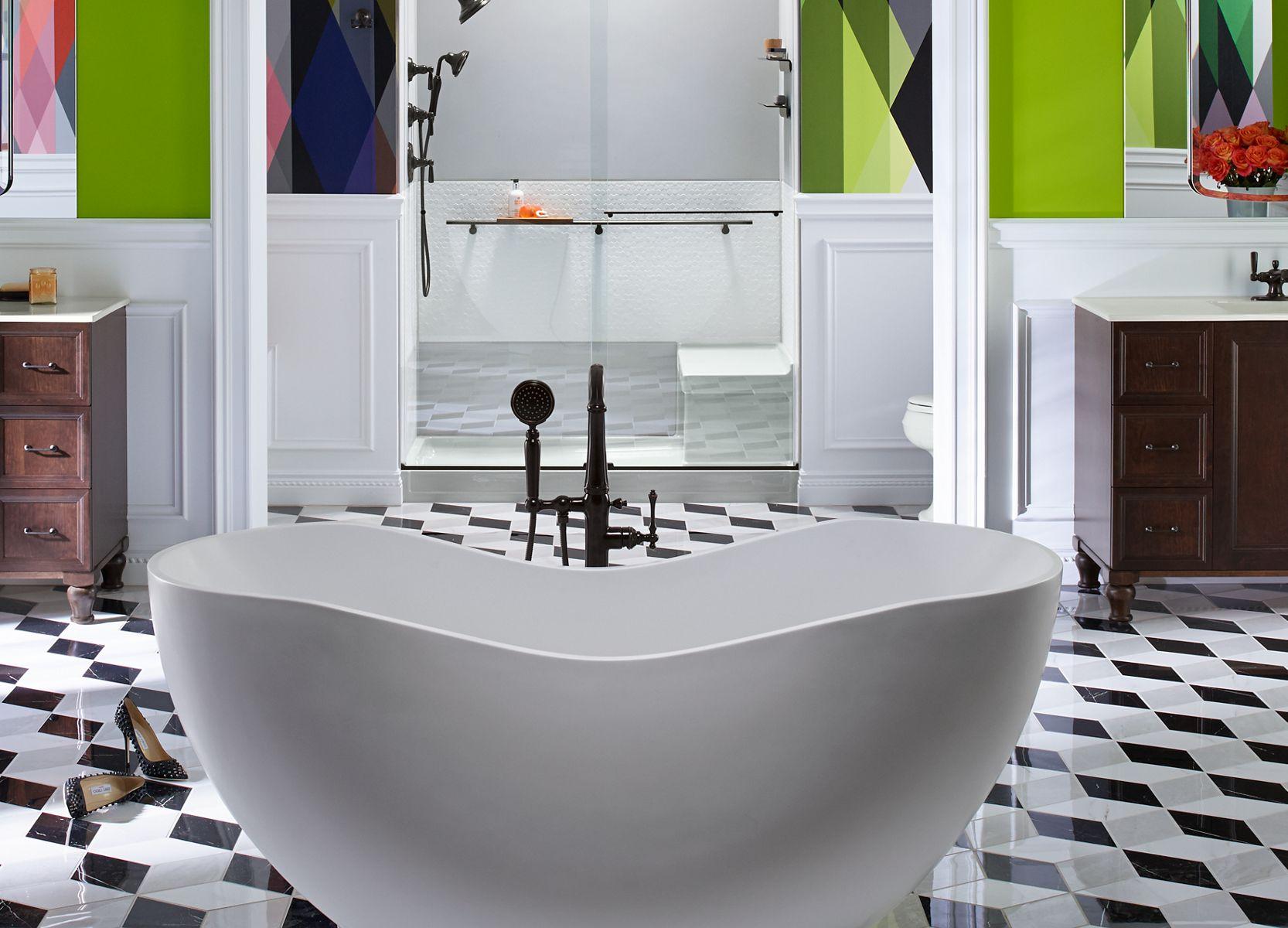 Bồn tắm và Bồn tắm mát- xa Lithocast®