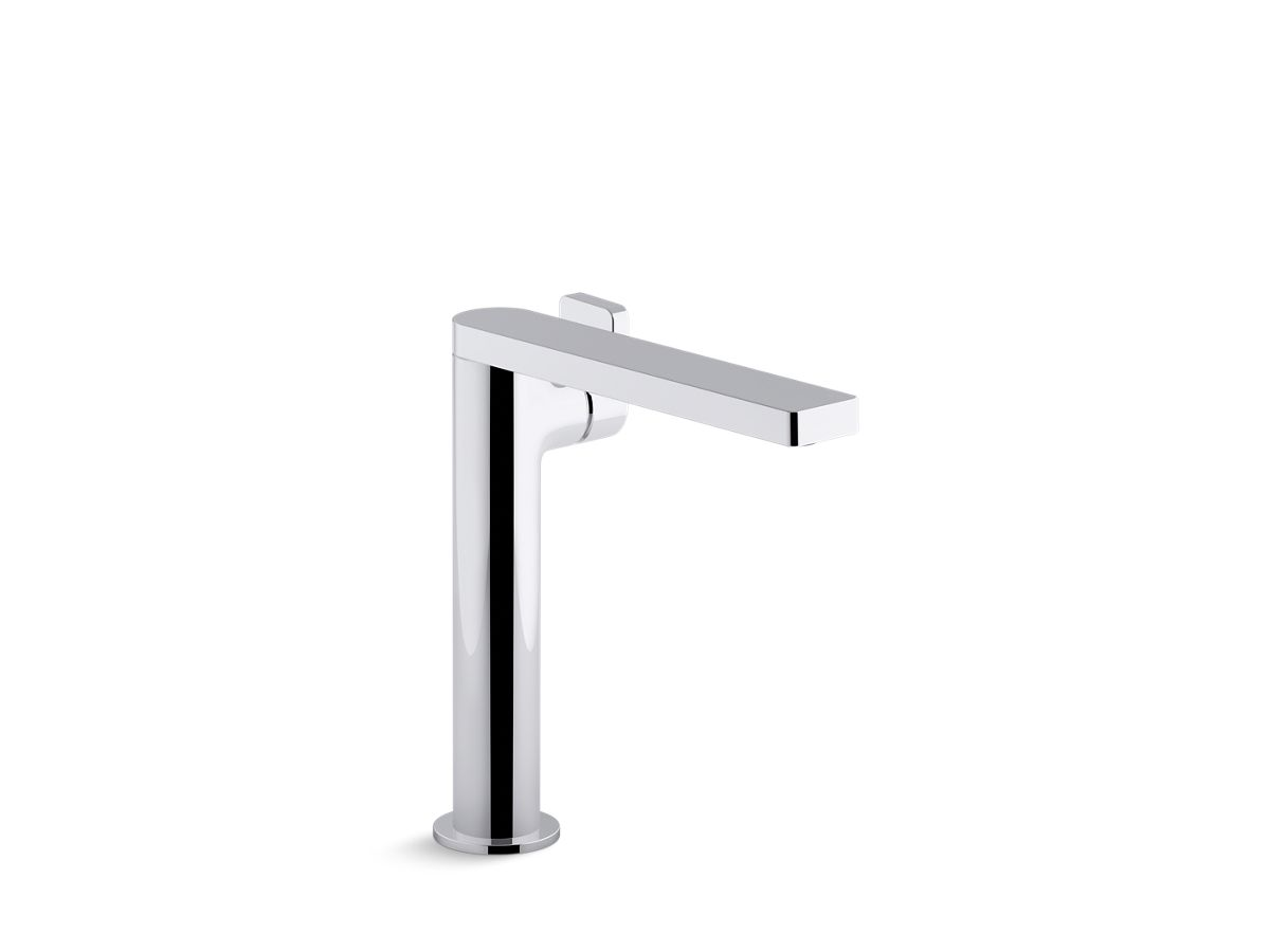 Composed® Tall single-handle bathroom sink faucet with lever handle   Tuggl