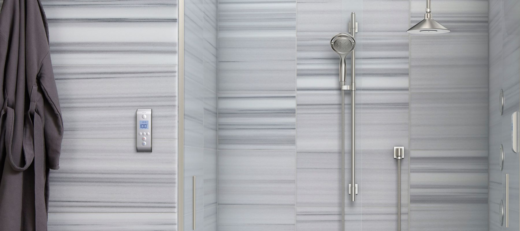 Go Digital In The Shower