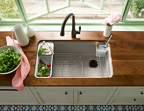 Reconsidering the Kitchen Faucet