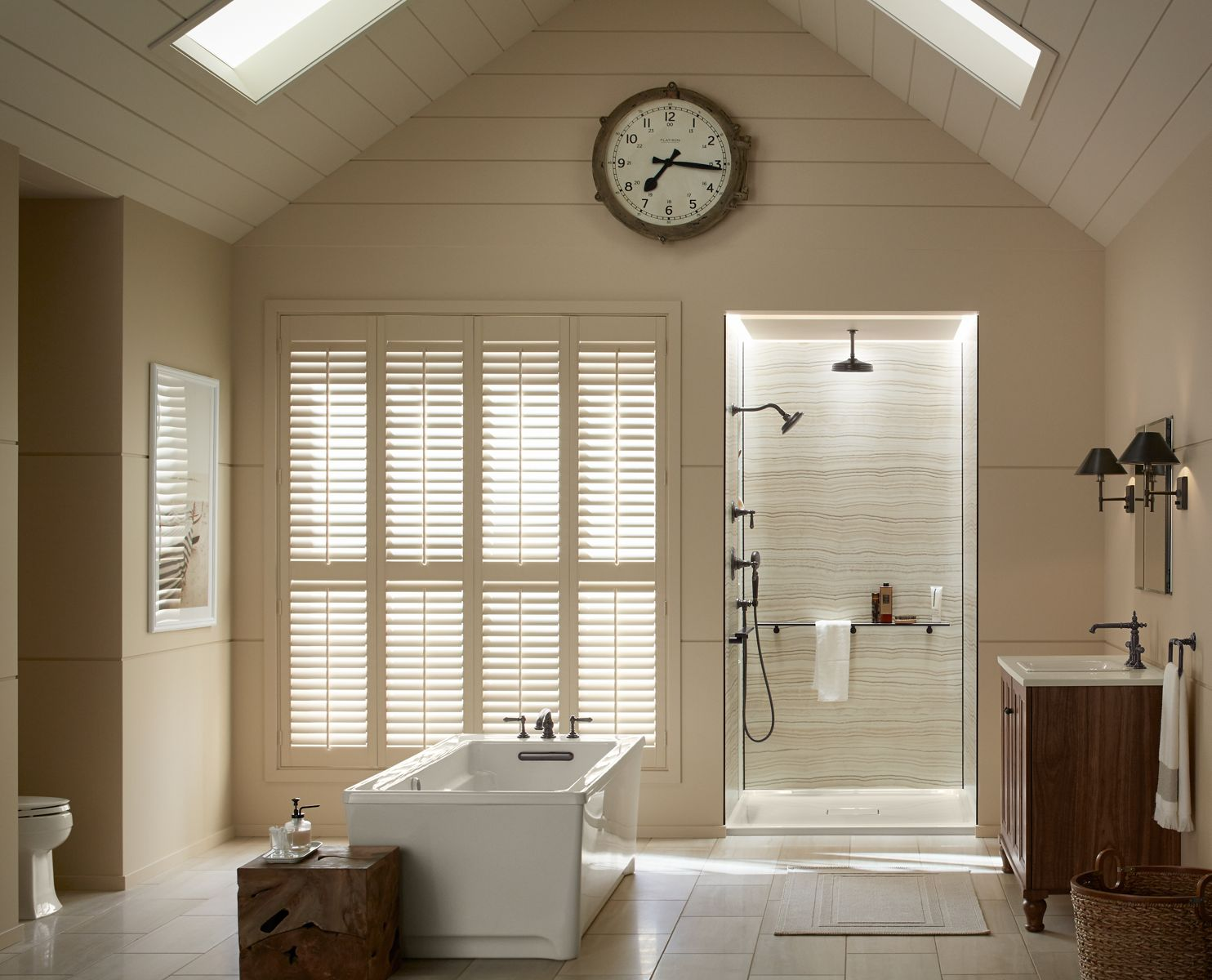 Easily Organize Your Shower While Creating A Space Designed Around You.  Every Detail Has Been
