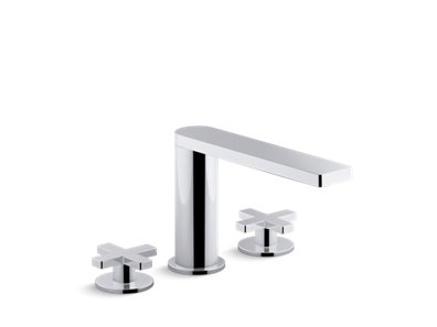Composed® deck-mount bath faucet with cross handles