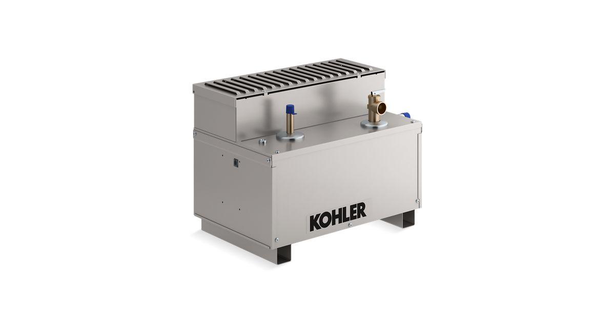 Kohler Steam Generator Wiring Diagram : K invigoration kw steam generator kohler