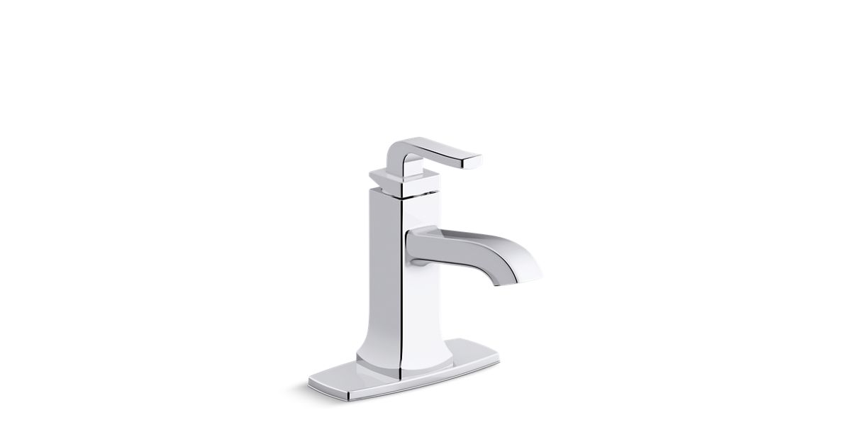 K R76214 4d Rubicon Single Handle Bathroom Faucet Kohler