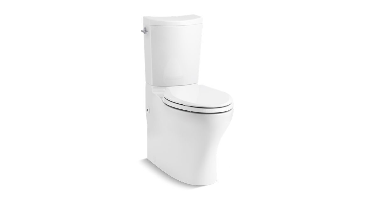 K 75790 Persuade Curv Elongated Dual Flush Toilet Skirted Trapway Kohler