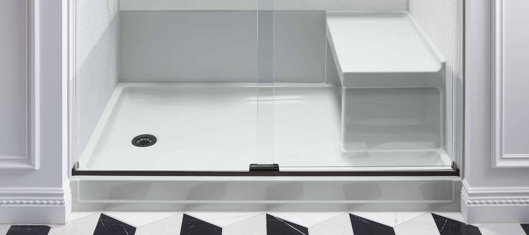 Acrylic Shower Bases | Bathroom | KOHLER