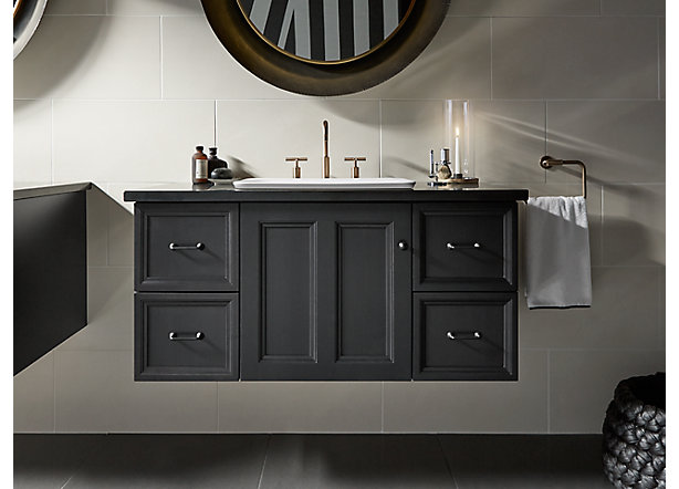 Size And Configuration Vanities Guide Bathroom Kohler