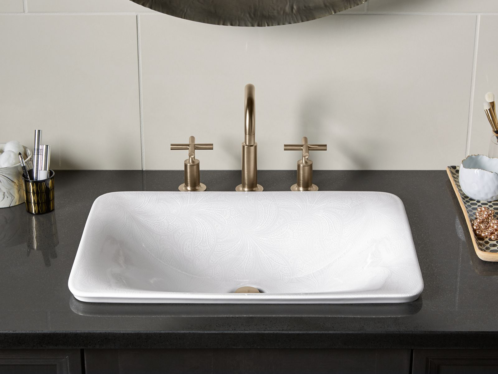 The Ultimate Guide To Grey Bathrooms: Bathroom Sink Buying Guide