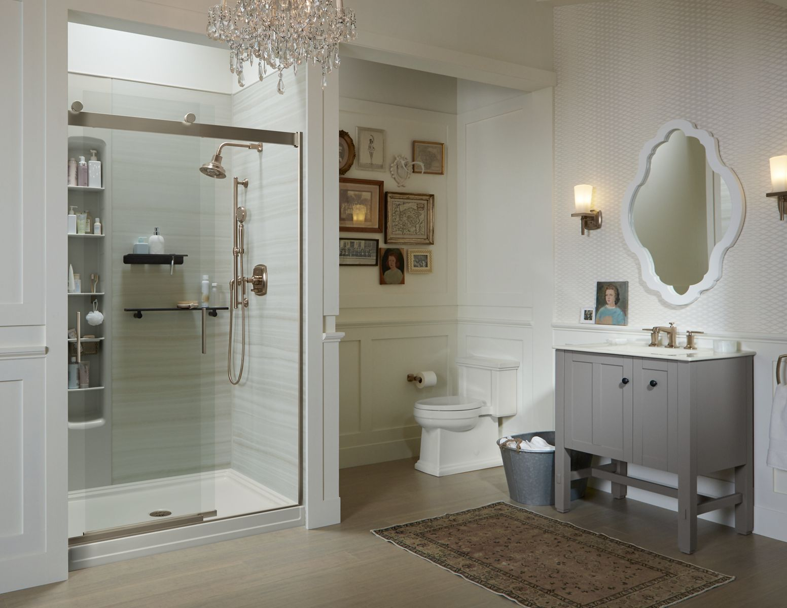 Surprising Kohler Toilets Showers Sinks Faucets And More For Bathroom Inspirational Interior Design Netriciaus