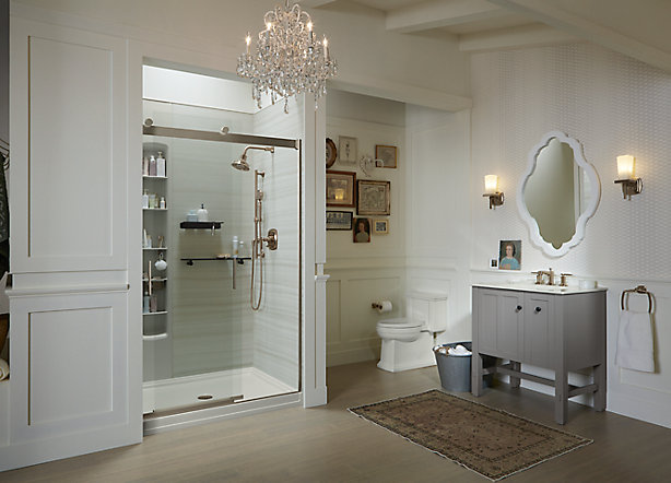 Showering Space Considerations