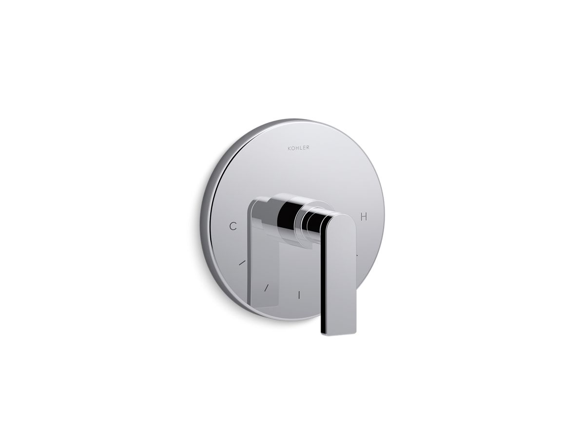 Composed® valve trim with lever handle for thermostatic valve, requires valve | Tuggl
