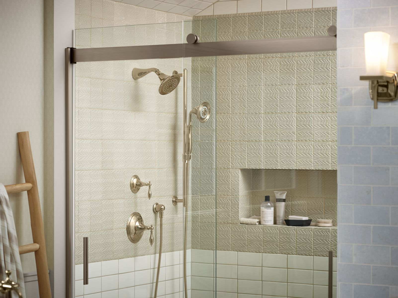 Simple Frameless Shower Doors Ideas - Contemporary shower doors for walk in showers Minimalist