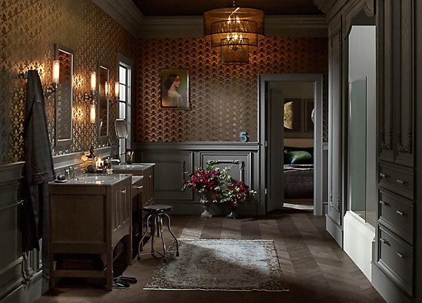Bathroom Lavatory Faucet Design Coordination