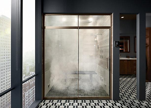 Shower Door Frame Options