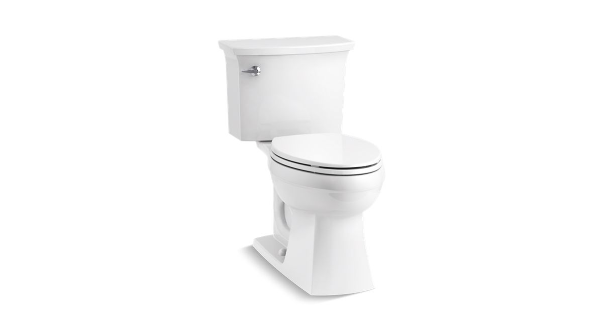 online for sale excellent quality factory outlet K-45983 | Elmbrook™ The Complete Solution® Comfort Height® two-piece  elongated 1.28 gpf toilet | KOHLER