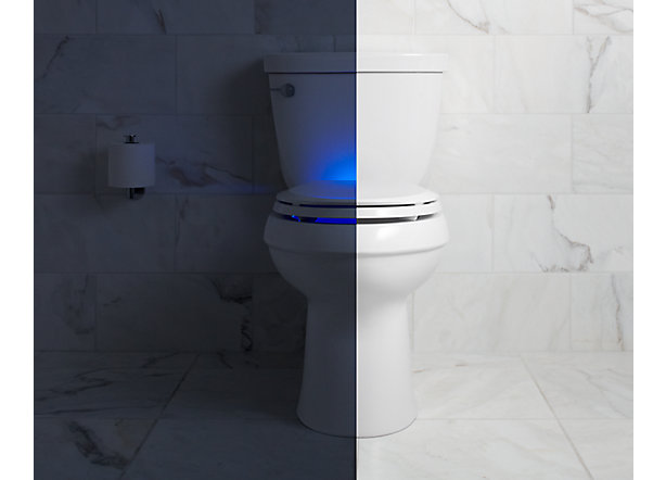 Excellent Nightlight Lighted Toilet Seats By Kohler Kohler Cjindustries Chair Design For Home Cjindustriesco